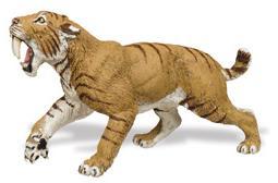 Safari Prehistoric Scbertooth Tiger (saf279729)