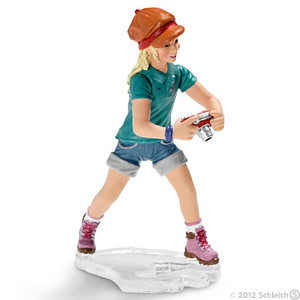 Schleich Girl with Camera (13469)