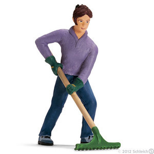 Schleich Farmers Wife with Rake (13452)