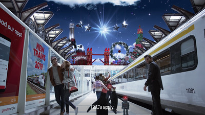 Greater Anglia Christmas TV & Cinema Commercial