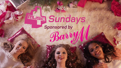 4Music TV Sponsorship Bumpers for BarryM Cosmetics.