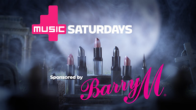 4Music Sponsorship Bumpers for Barry M - HALLOWEEN