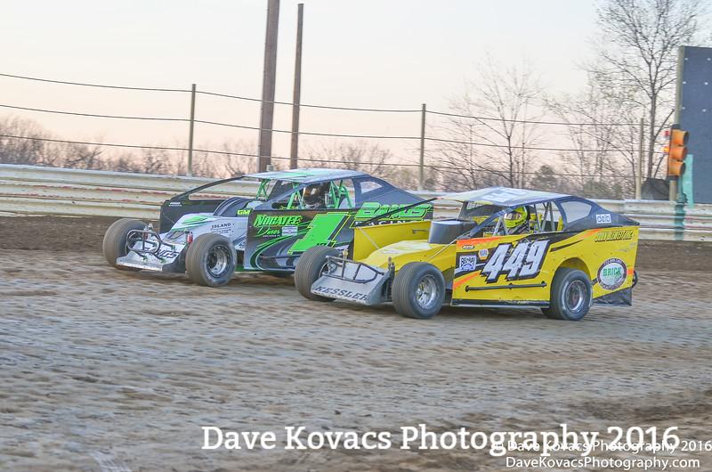 New Egypt Speedway - Opening Night 4-16-16