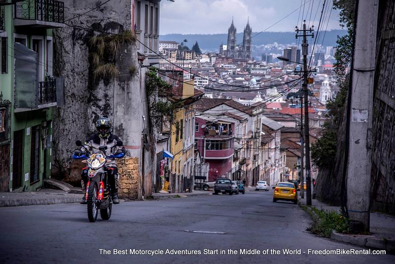 Dirt Bike City Tour of Quito