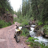 A fun easy road south of Crested Butte on the way back to Taylor Park.
