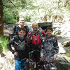 Kevin and Ben Smith and Joby and Wesley Chock at Deep Water Crossing