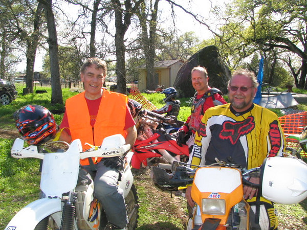 Paul Schiess, Craig Larrew, Ken Braza 3 of the event organizers