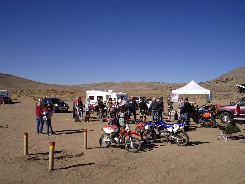 Rider's Meeting Saturday morning