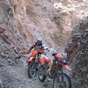 Who tol;d you they do not have single track at Yerington? This is about as single track as you get...