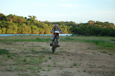 Dirt Biking in Roatan