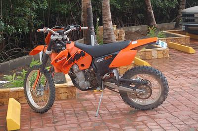 New KTM 400