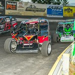 dirt track racing image - Jeep Night