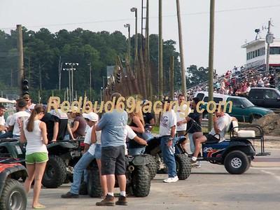 July 10, 2008 Camp Barnes Benefit Delaware International Speedway Redbud's Pit Shots