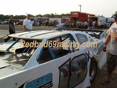 July 12, 2008 Redbud's Pit Shots Delaware International Speedway