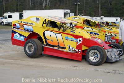 April 3, 2010.....Redbud's Pit Shots Delaware International Speedway Test-n-tune