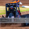 USAC Midgets at the Jefferson County Speedway in Fairbury, NE during night 2 of the Midwest Midget Championship - Brandon Anderson Photos - July 12, 2019