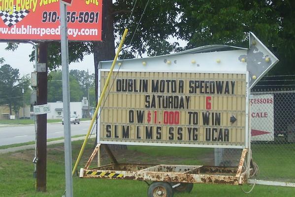 Dublin Motor Speedway 6/6/09