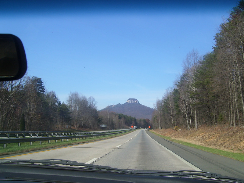 on the way to Rolling Thunder Raceway in Ararat VA