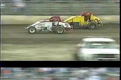Flyin' Eddie Klinkhamer at Kokomo Speedway
