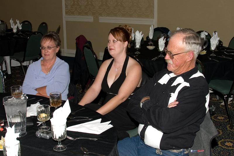 Cassandra Wells (center) and family