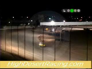 El Paso Speedway Park Legends Main Event wreck, July 14, 2006.