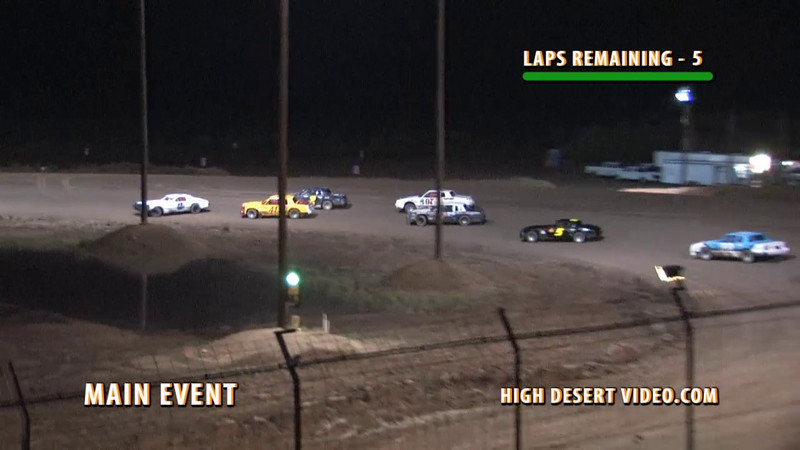 This Street Stock Main Event incident at Southern New Mexico Speedway on July 31, 2010 was controversial to some. The yellow was charged to the white #48T (the car that spun out). Do you think the correct driver was charged with this incident? Please leave your comments.