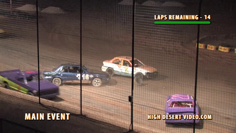 El Paso Speedway Park, June 4, 2010 Hornet Main Event.  Cars were a little mangled, but all drivers walked away.