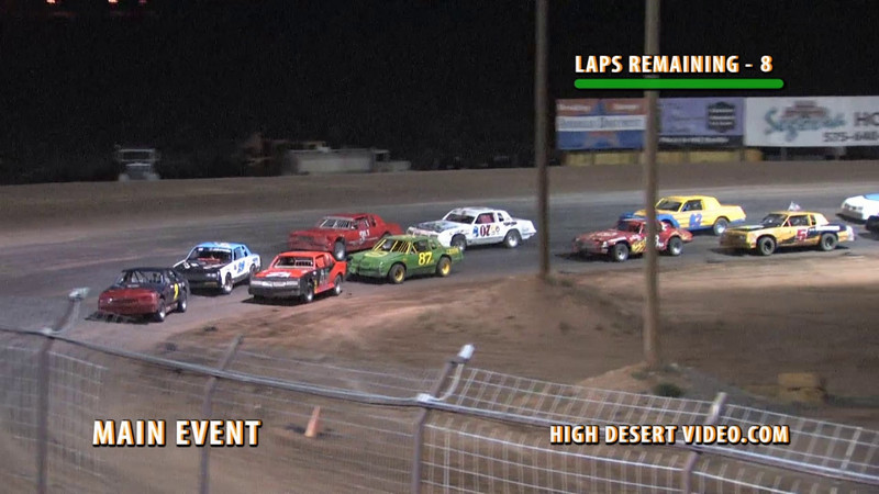 Street Stock racing at Southern New Mexico Speedway is always fun to watch. If you haven't had a chance to see one of their races, or don't live close enough to visit the track, here is a sample of the level of competition we see every week at SNMS in Las Cruces, NM.