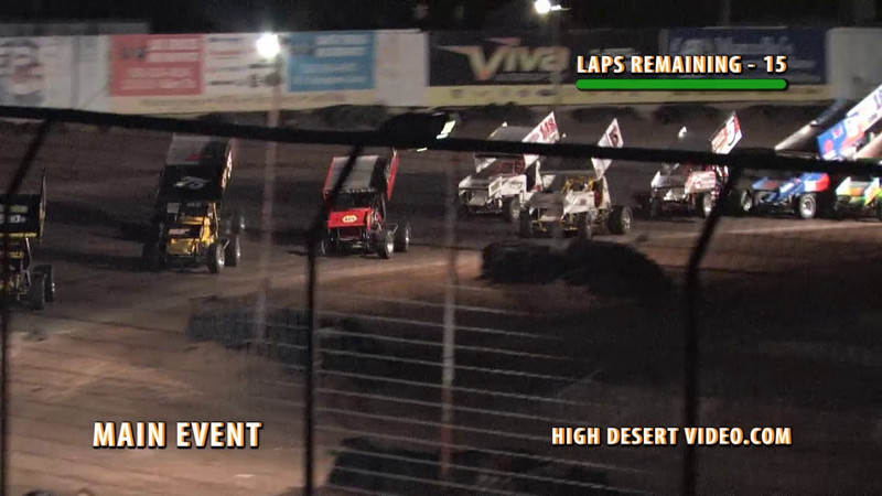 During the Southern New Mexico Speedway Legend Main Event on July 10, 2010, Morgan Wright in the #32 Legend jumps a wheel on one car and launches over the top of another that had spun. Morgan was not hurt and was seen laughing about the whole incident, but that was before she had a chance to review this clip!