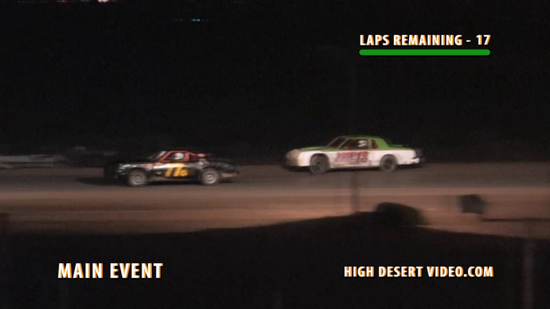 David Fountain, #13 looses his transmission during the El Paso Speedway Park Street Stock Main Event, May 7, 2010. Toward the end of this clip, you can see one piece of his drive shaft being pulled from the track, another piece further up the track as well as the torque converter which fell out when the transmission exploded.