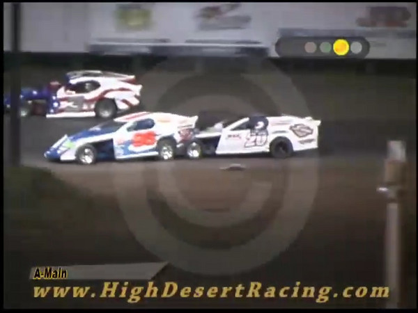 Rumble at the Raceway - Altercation following on-track retaliation between #20 and #96 Modified at Southern New Mexico Speedway - October 4, 2008.