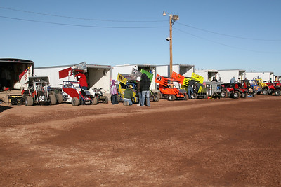 White Sands Speedway - February 14, 2010