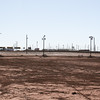 White Sands Speedway turn one/two