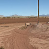 White Sands Speedway turn three