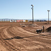 White Sands Speedway back straight/turn three