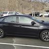 I loved our shiny black Toyota Avalon rental car.
