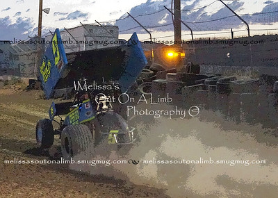 2017 7-28 Fernley 95A pract night  Sprint Car Challenge