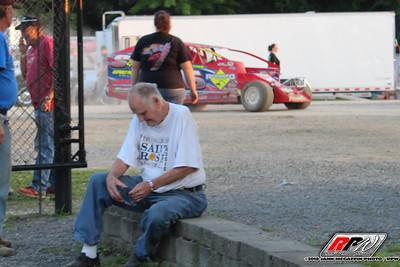 Albany Saratoga Speedway-Jann McGaffin-8/24/18