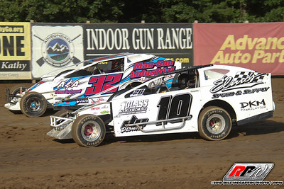 Albany-Saratoga Speedway-King of Dirt Pro Stock Series-Bill McGaffin-8/10/18