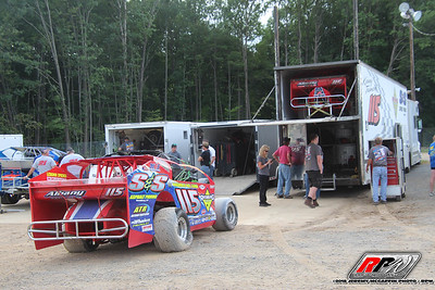 Albany-Saratoga Speedway-w/ King of Dirt Northeast Crate Nationals-Jeremy McGaffin-9/7/18