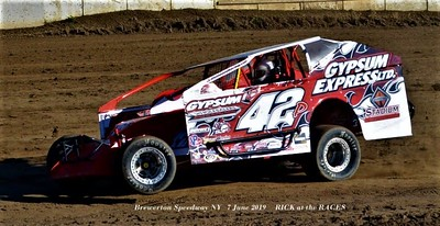 Brewerton Speedway NY   7 June 2019     RICK at the RACES