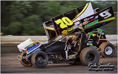 Bridgeport Speedway - 8/28/16 - Rick Sweeten