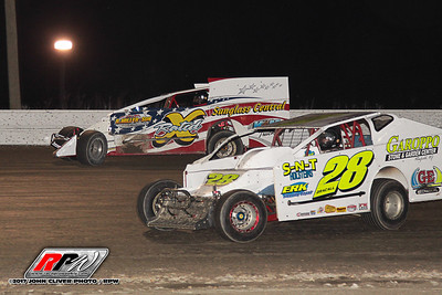 Bridgeport Speedway - 60 Over Special Friday - 3/24/17 - John Cliver
