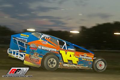 Bridgeport Speedway - 8/25/18 - John Cliver