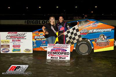 Bridgeport Speedway - 9/1/18 - John Cliver