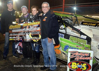 Brockville Ontraio Speedway - Northeast Fall Nationals - 10/15/16 - Rick Young