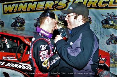 Brockville Ontario Speedway - 10/13/18 - Rick Young