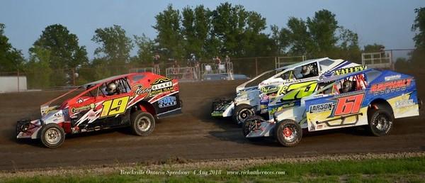 Brockville Ontario Speedway - 8/4/18 - Rick Young