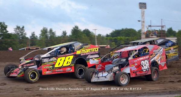 Brockville Ontario Speedway   17 August 2019    RICK at the RACES