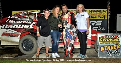 Cornwall Motor Speedway - 8/26/18 - Rick Young